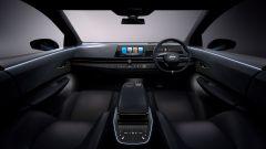 Nissan Ariya: gli interni