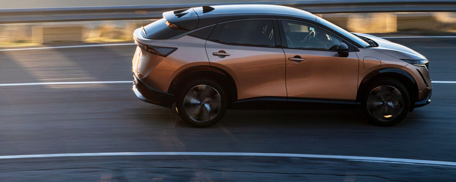 Nissan Ariya, il debutto è vicino