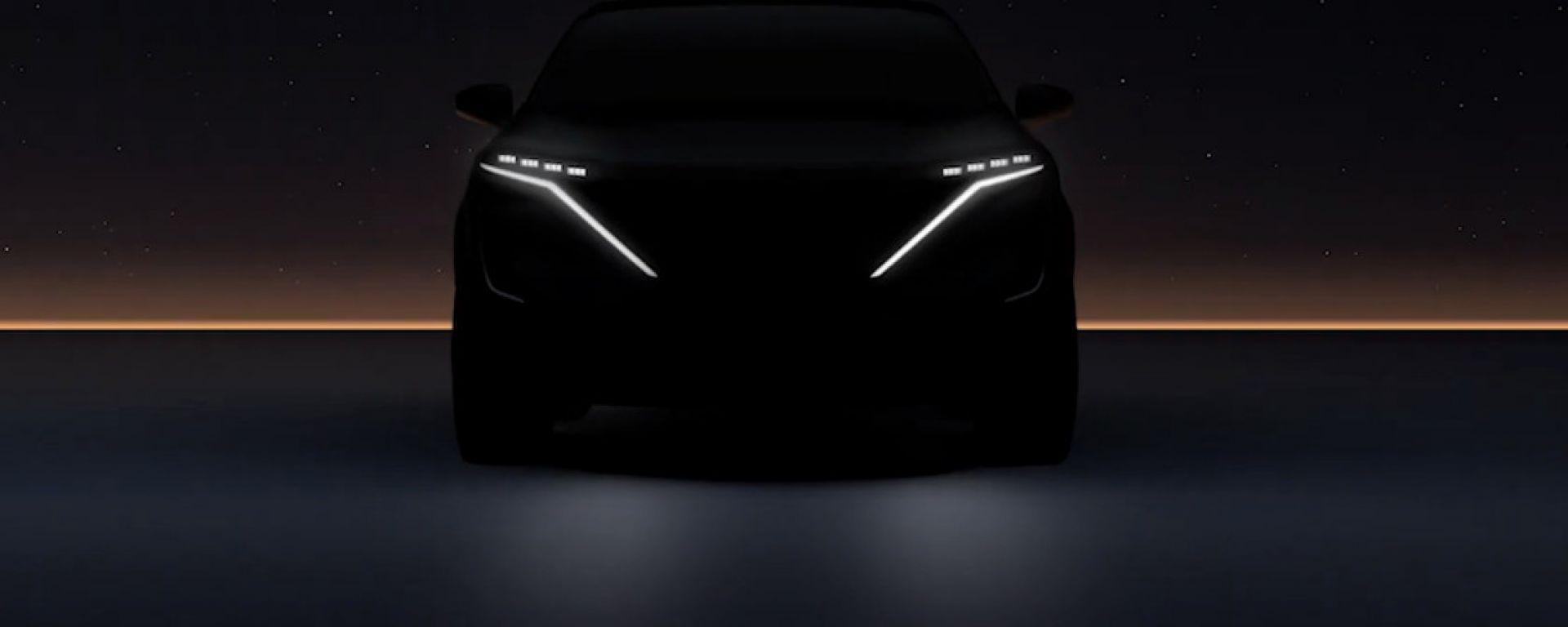Nissan Ariya: il SUV elettrico compatto sarà svelato il 15 luglio