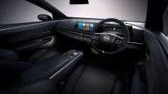 Nissan Ariya: interni, la plancia