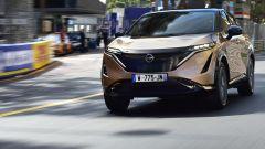 Nissan Ariya, debutto su strada a Montecarlo. Video e ultime news