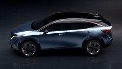 Nissan Ariya: vista laterale sinistra