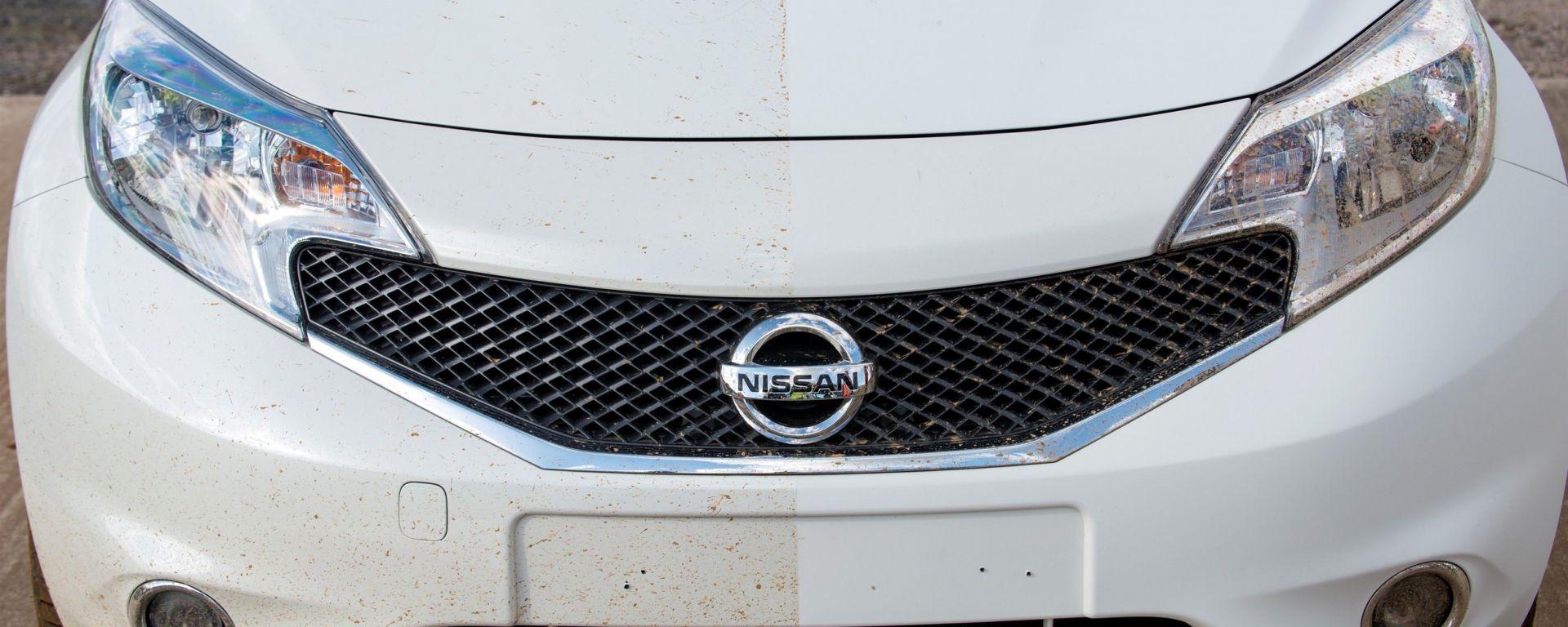 Nissan: arriva la vernice anti-sporco
