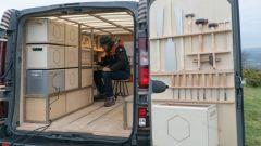 Nissan Concept-van NV300: il vano di carico