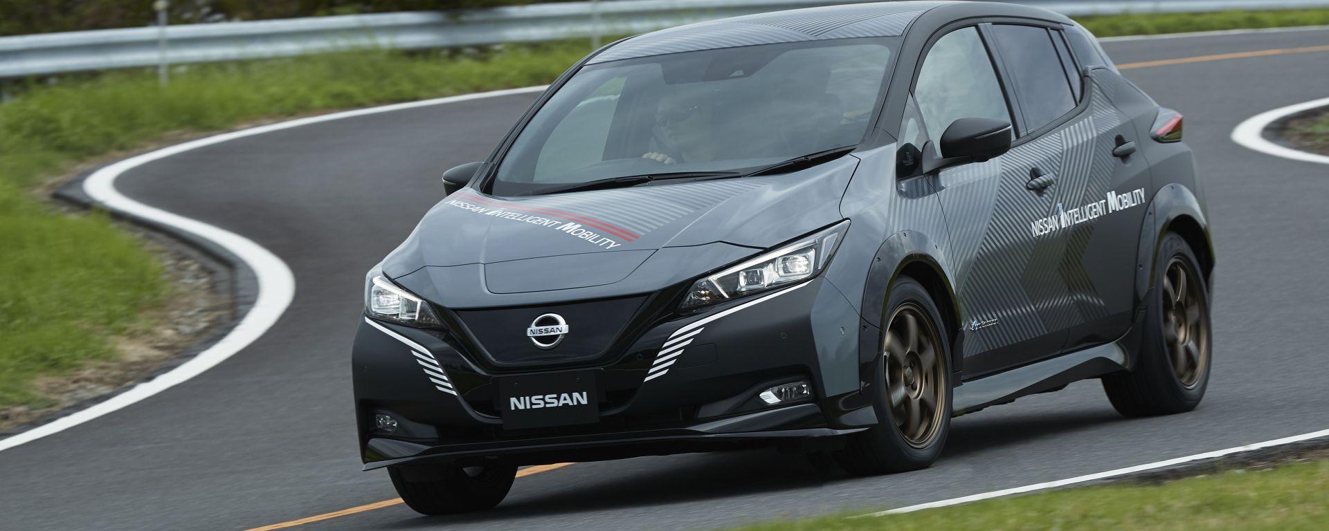 Nissan e-4ORCE, nuovo sistema di trazione elettrica integrale