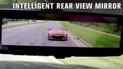 Nissan IRVM: lo specchietto retrovisore digitale
