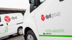 DPD ordina 10000 furgoni elettrici Nissan e-NV200 per le consegne