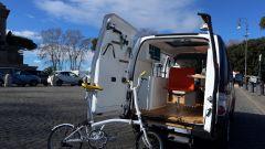 Nissan e-NV200 WORKSPACe: c'è anche una bici pieghevole