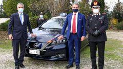 Nissan e Subaru per i Carabinieri: il Ministro alla cerimonia