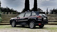 Nissan e Subaru per i Carabinieri: la Forester di 3/4 posteriore