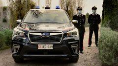 Nissan e Subaru per i Carabinieri: la Forester di fronte