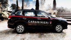 Nissan e Subaru per i Carabinieri: la Forester di profilo