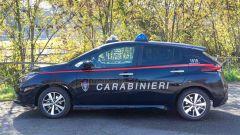 Nissan e Subaru per i Carabinieri: la Leaf di profilo