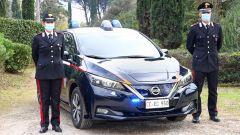 Nissan e Subaru per i Carabinieri: la Leaf per l'Arma