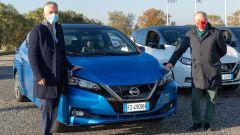 Nissan e UNASCA: Paolo Matteucci, Direttore EV Nissan, e Antonio Datri, Presidente UNASCA