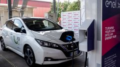 Nissan, Enel X e RSE sperimentano per primi Vehicle to Grid carica