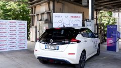 Nissan, Enel X e RSE sperimentano per primi Vehicle to Grid retro