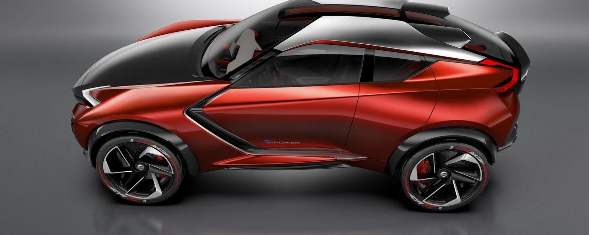 Nissan Gripz concept: lei la musa ispiratrice di nuova Juke?