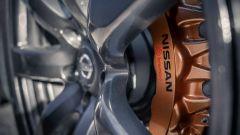 Nissan GT-R in versione fuoristrada, dettaglio dei cerchi