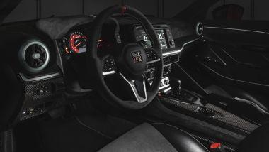 Nissan GT-R50 by Italdesign: gli interni