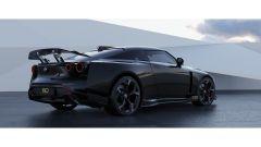 Nissan GT-R50 by Italdesign: la grande ala posteriore per aumentare il carico aerodinamico