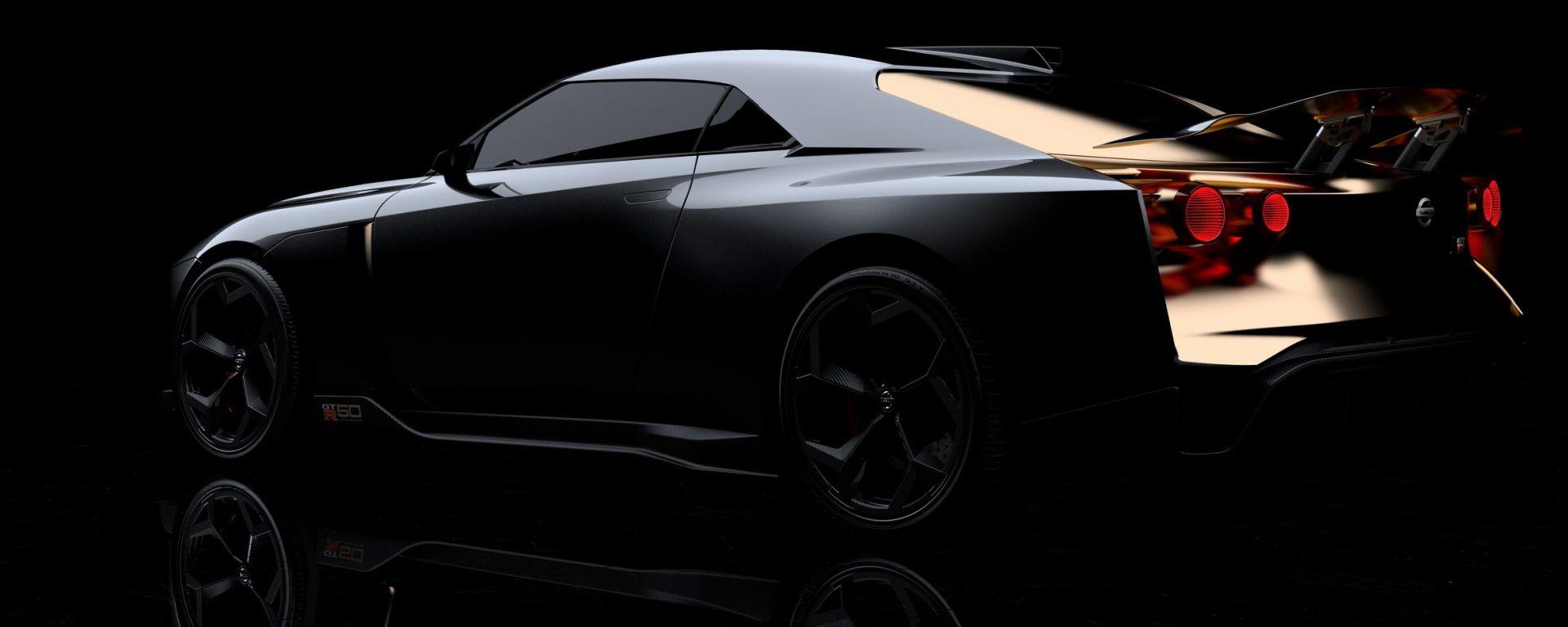 Nissan GT-R50 by Italdesign: una GT-R speciale per i suoi 50 anni