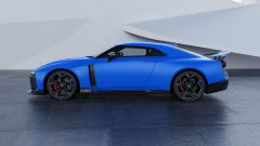 Nissan GT-R50, visuale laterale