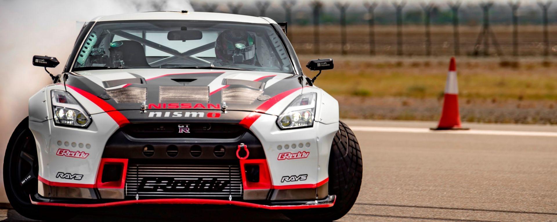 Nissan GT-R Nismo, è record... di derapata veloce