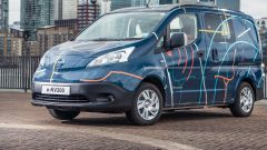 Nissan: il concept e-NV200 WORKSPACe
