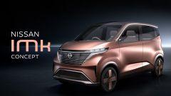 La nuova Nissan IMk, prototipo di citycar a emissioni zero