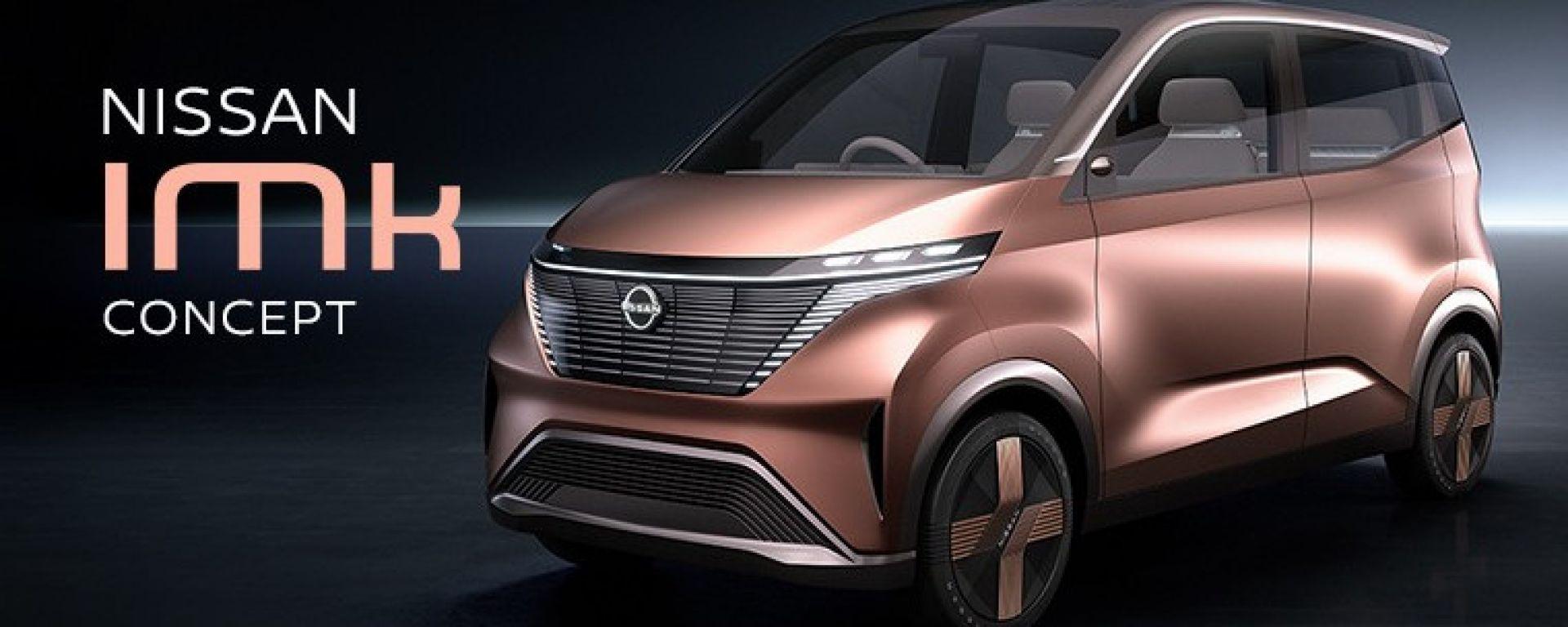 Nissan IMk: il primo render del prototipo