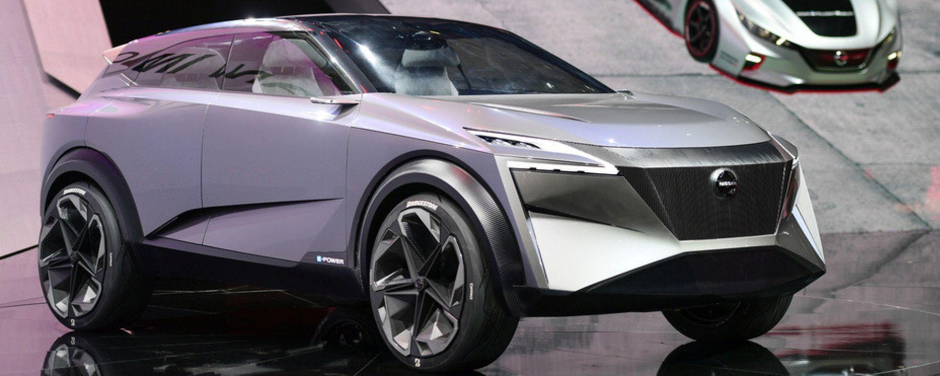 Nissan IMQ Concept, a Ginevra altro Suv elettrico e autonomo