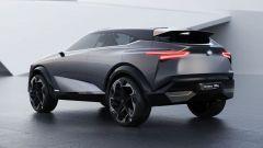 Nissan IMQ: vista 3/4 posteriore