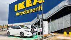 Nissan: insieme a Ikea per elettrificare la Capitale - Immagine: 1