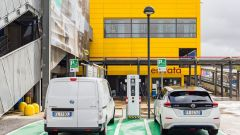 Nissan: insieme a Ikea per elettrificare la Capitale - Immagine: 4