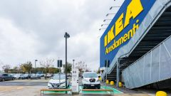 Nissan: insieme a Ikea per elettrificare la Capitale - Immagine: 11