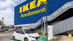 Nissan: insieme a Ikea per elettrificare la Capitale - Immagine: 13