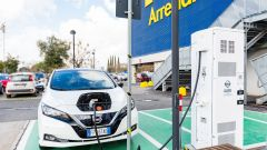 Nissan: insieme a Ikea per elettrificare la Capitale - Immagine: 27