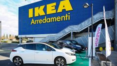 Nissan: insieme a Ikea per elettrificare la Capitale - Immagine: 32