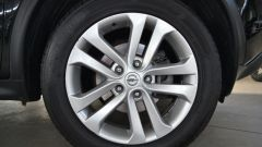 Nissan Juke 1.5 dCi: i cerchi sono in ottimo stato