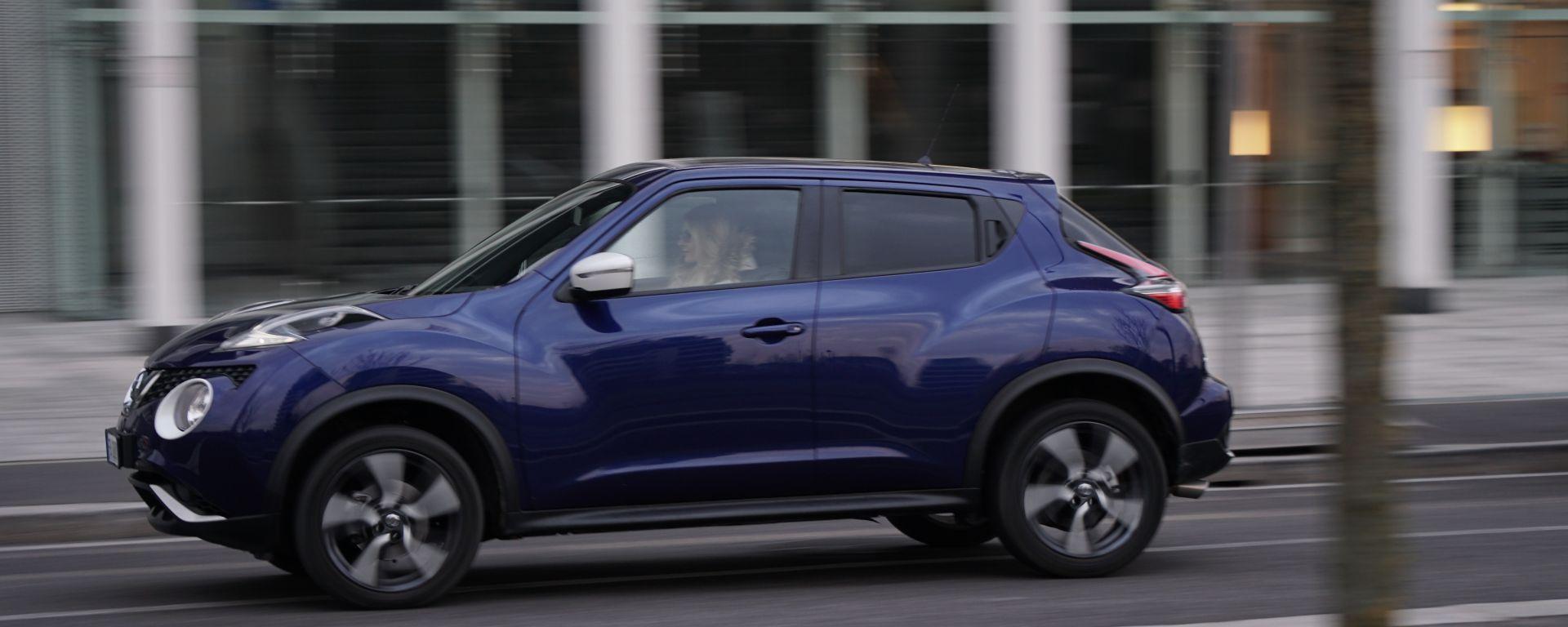 Nissan Juke 1.5 DCi N-Connecta - linee ondulate per la crossover dall'anima sportiva