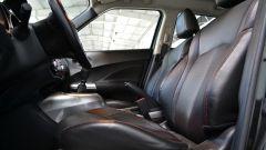 Nissan Juke 1.5 dCi: ottima la resa della pelle dei sedili