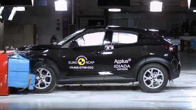 Nissan Juke 2020, 5 stelle Euro NCAP