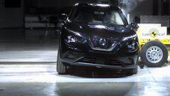 Nissan Juke 2020, 5 stelle ai test Euro NCAP. Il video
