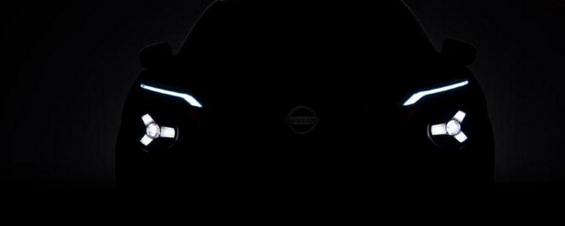 Nissan Juke 2020, il frontale