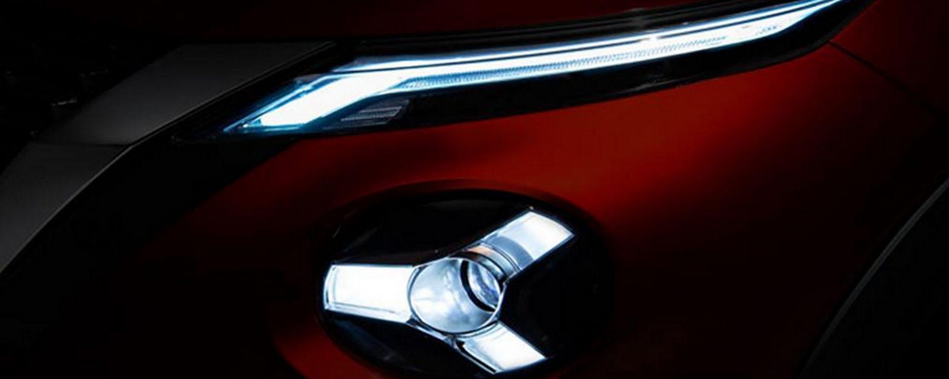 Nissan Juke 2020, primo teaser