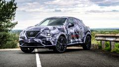 Nissan Juke 2020: vista 3/4 anteriore
