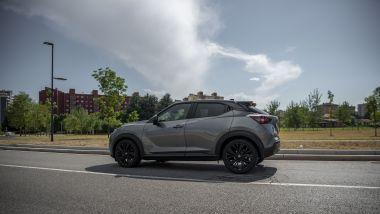 Nissan Juke Enigma per le strade di Milano