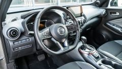 Nissan Juke, gli interni