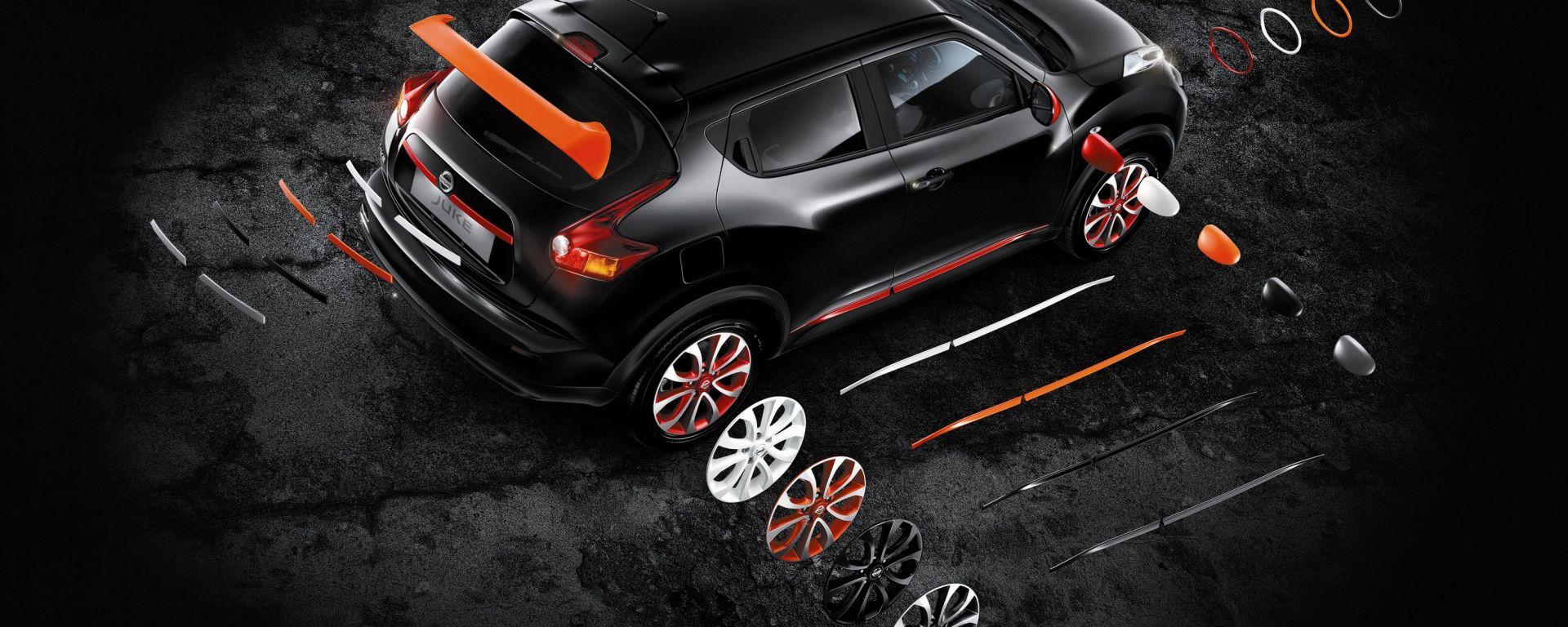 """Nissan Juke: un tocco di colore """"su misura"""""""